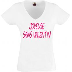 T-shirt sans valentin