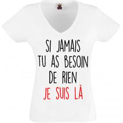 T-shirt  si jamais