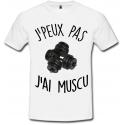 T-shirt muscu