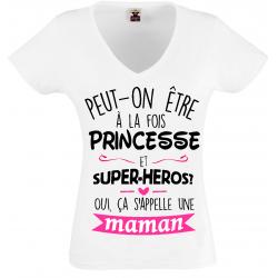 T-shirt ça s'appelle une maman