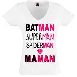 T-shirt batman maman