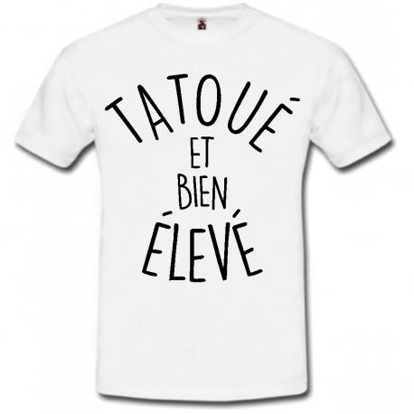 T-shirt tatoué
