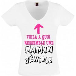 T-shirt maman géniale