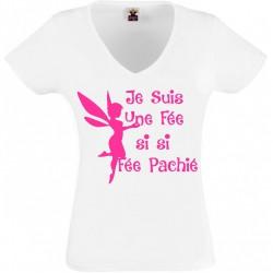 T-shirt fée pachié