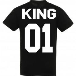 T-shirt king noir