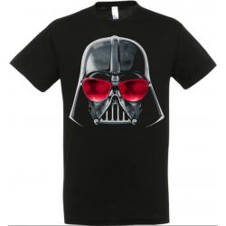 T-shirt dark vador lunettes