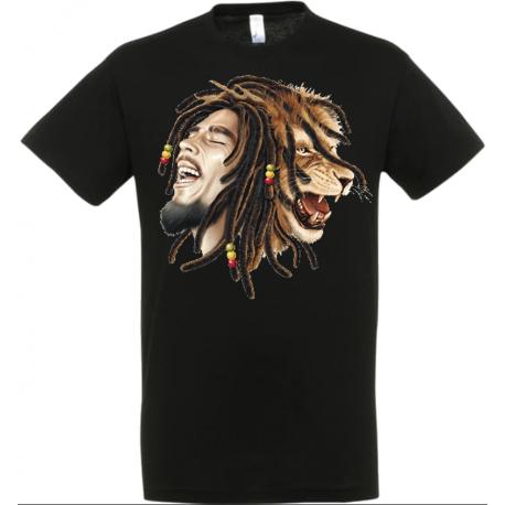 T-shirt marley lion
