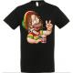 T-shirt homer rasta
