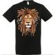 T-shirt lion rasta