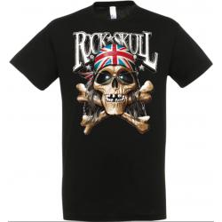 T-shirt rock skull