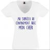 T-shirt J'ai survécu chéri