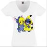 T-shirt Pikachu et Stitch