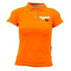 polo femme orange
